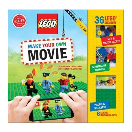 Lego Make Your Own Movie by Klutz   Cass Art