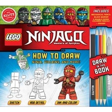 Lego Ninjago How to Draw by Klutz