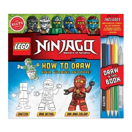 Lego Ninjago How to Draw by Klutz | Cass Art