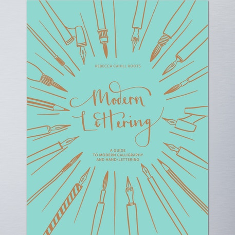 Modern Lettering by Rebecca Cahill Roots | Cass Art