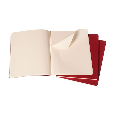 Moleskine Plain Journals Pack of 3 | Cass Art