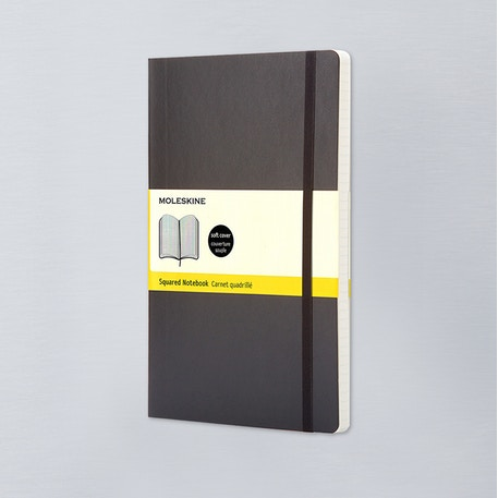 Moleskine Large Squared Notebook | Cass Art