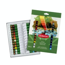 Derwent Academy Oil Paints 12ml Set of 24