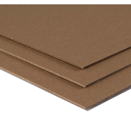 Seawhite A1 Corrugated Kraft Board 2mm Pack of 25 | Cass Art
