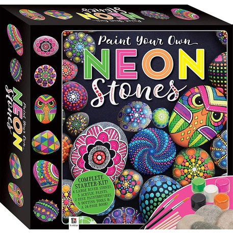 Hinkler Paint Your Own Neon Stones Kit | Cass Art