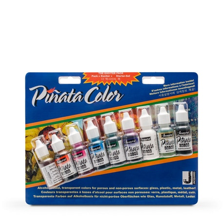 Jacquard Pinata Exciter Colour Ink Set of 9 | Cass Art