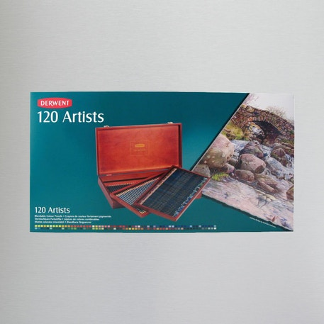 Derwent Artists Pencil Wooden Box Set of 120 | Cass Art