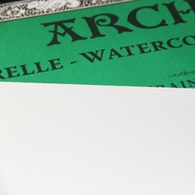 Arches Aquarelle Watercolour Block 300gsm Not