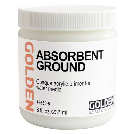 Golden Acrylic Absorbent Ground | Cass Art