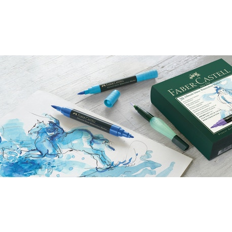 Faber-Castell Albrecht Durer Watercolour Markers Gift Set of 16 | Cass Art