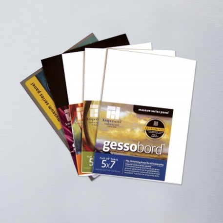 Ampersand Sampler 12.7 x 17.8cm Pack of 6 | Cass Art