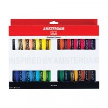 Amsterdam Standard Series Acrylic Paints Set of 24 x 20ml
