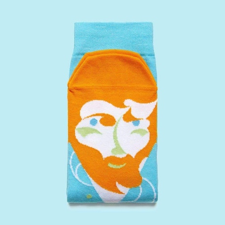 ChattyFeet Vincent Van Toe Socks | Cass Art