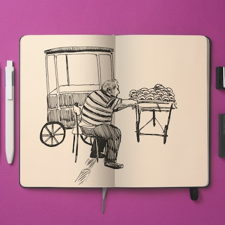 Moleskine Art Plus Soft Large Sketch Album | Cass Art