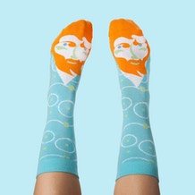 ChattyFeet Vincent Van Toe Socks