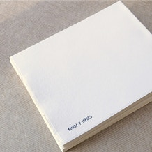 Khadi Block Book 210gsm Smooth 40 pages 21 x 25cm