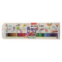 Bruynzeel Kids Felt Tip Pens Set of 50
