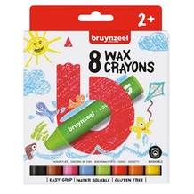 Bruynzeel Kids Wax Crayons Set of 8