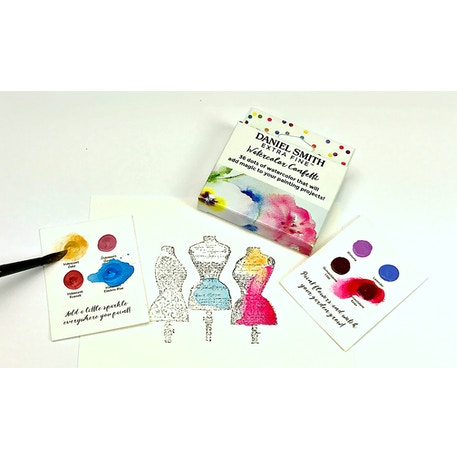 Daniel Smith Confetti Mini Watercolour Dot Card Box | Cass Art