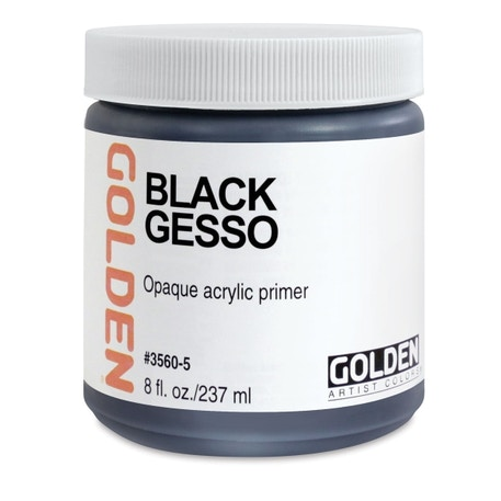 Golden Black Gesso | Cass Art