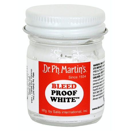 Dr Ph Martin's Bleed Proof White 30ml | Cass Art