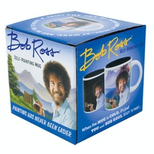Bob Ross Heat Changing Self-Painting Mug
