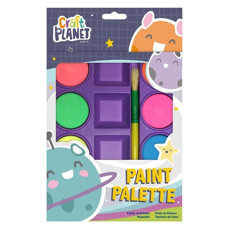Craft Planet Kids Paint Palette Set of 8 | Cass Art