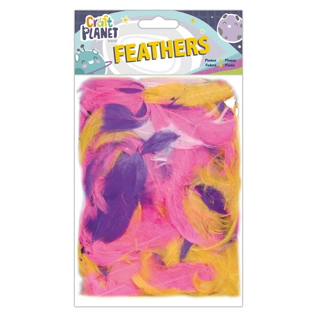 Craft Planet Soft Exotic Feathers | Cass Art