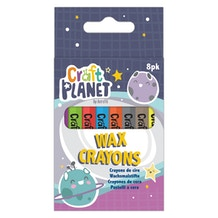 Craft Planet Wax Crayons Set of 8