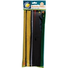 Craft Planet Chenille Stems Vivid Colours Pack of 60