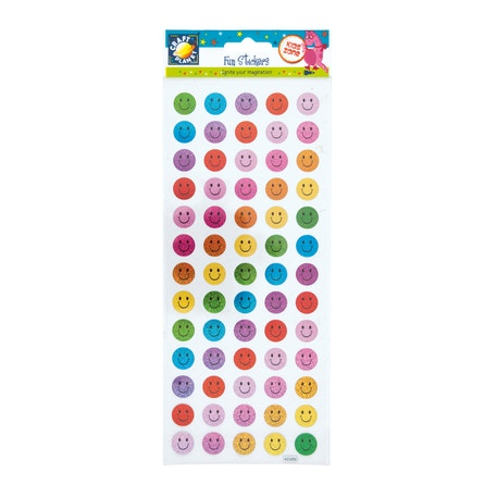 Craft Planet Fun Stickers Happy Faces | Cass Art