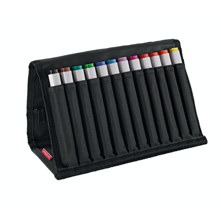 Copic Original Marker Bright Wallet Set of 12 | Cass Art