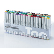Copic Sketch Markers Set B Set of 72