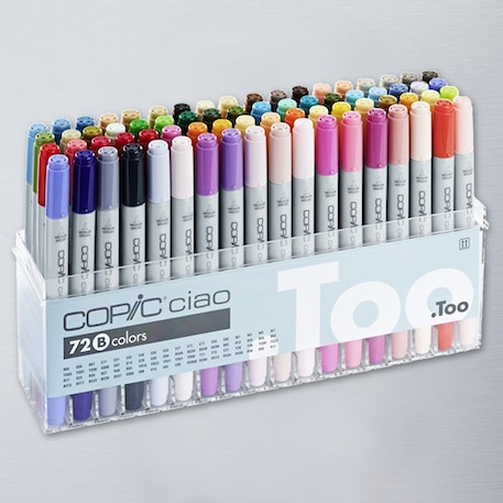 Copic Ciao Markers Set B Set of 72 | Cass Art