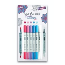 Copic Ciao Doodle Colouring Markers Set of 6
