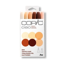 Copic Ciao Skin Colours Markers Set of 6