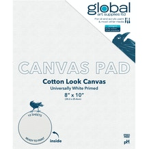 Global Canvas Pad White