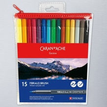 Caran D'ache Fibralo Brush Set of 15