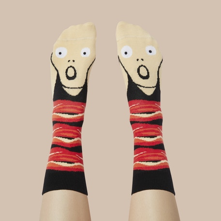 ChattyFeet Screamy Ed Socks | Cass Art