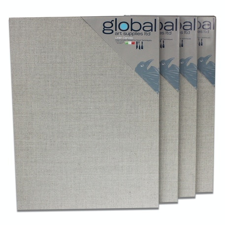Global Linen Clear Canvas