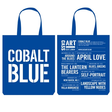 Cass Tote Bag Cobalt Blue | Cass Art