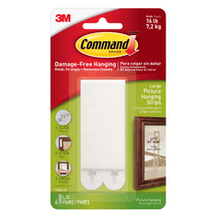 Command Large Picture Hanging Strips Pack of 4