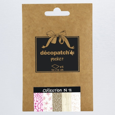 Decopatch Pocket Coordinated Papers No. 11 | Cass Art