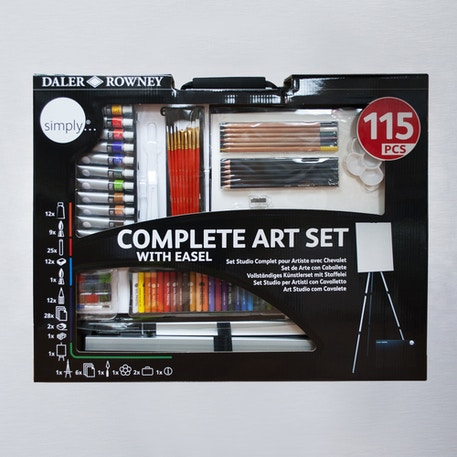 Daler Rowney Simply Complete Art Set of 115 | Cass Art