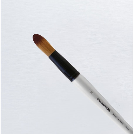 Daler Rowney Graduate XL Soft Synthetic Round Brush | Cass Art
