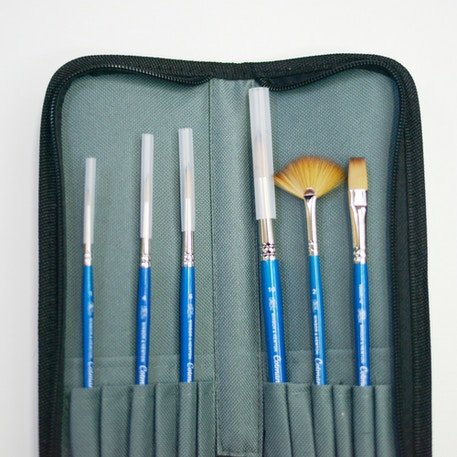 Winsor & Newton Cotman Brush Wallet Set of 6 | Cass Art Exclusive