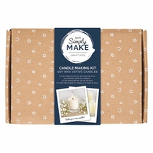 Docrafts Simply Make Candle Making Kit - Soy Wax Votive Candles