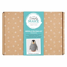 Docrafts Simply Make Needle Felting Kit - Penguin