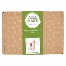 Docrafts Simply Make Needle Felting Kit - Llama