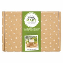 Docrafts Simply Make Candle Making Kit - Mason Jar Candles